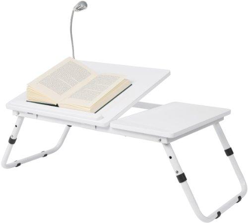 74373 Bett Tisch Leseratte 27 x 6 x 35, MDF, weiß