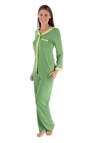 Womens Comfortable Pajamas Sleepwear Set Gift for Women Wife Mom Grandma 0092-JD-M