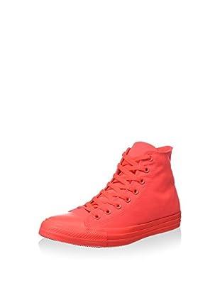 Converse Zapatillas abotinadas All Star Hi Neon (Rojo)