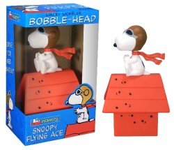 Buy Wacky Wobblers Peanuts Snoopy Flying Ace Bobble Head by Funko