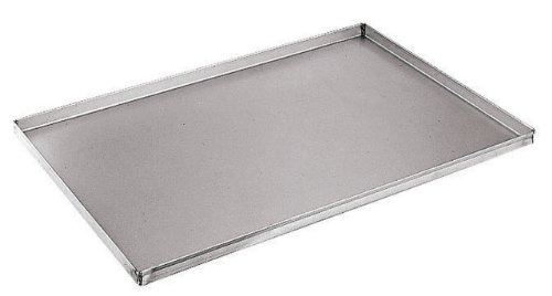 Paderno World Cuisine 23 5/8 Inch by 15 3/4 Inch Aluminized/Steel Baking Sheet