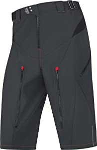 Gore Bike Wear Men's Fusion 2.0 Shorts - Black, Large