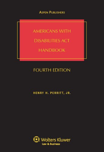 Americans With Disabilities Act Handbook 2009 Base Volume - Hardcover - Aspen Publishers - 073553148X - ISBN: 073553148X - ISBN-13: 9780735531482