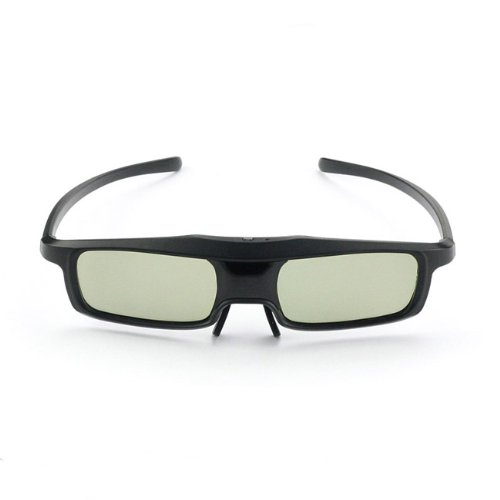 SainSonic Rainbow Series 2013 Newest Economical Black Version UNIVERSAL 3D Rechargeable Infrared Active Shutter Glasses For Panasonic, Samsung, Sony, Sharp, LG, Toshiba, Philips 3D HDTVs, Cost Less, Enjoy More!