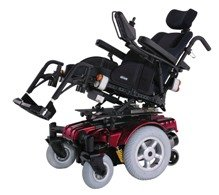 Drive Medical Sunfire Gladiator Very HD Power Wheelchair with Solid Pan Rehab Seat