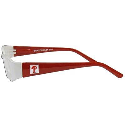 MLB Philadelphia Phillies +1.25 Reading Glasses Colored Frames