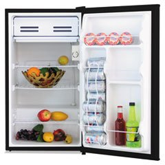 3.3 Cu. Ft. Refrigerator with Chiller Compartment, Black, Sold as 1 Each (Breakroom Fridge compare prices)