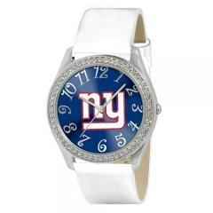 New York Giants NFL Glitz Feminine White Watch Bracelet - Ladies Sports Fashion... by NFL