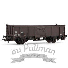 Jouef Junior - HJ6106 - Modélisme Ferroviaire - Wagon Plat Marron