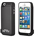 Stoga 4200mAh Iphone 5C 5 5S External Power Pack Case and Rechargeable Back Up Battery Charger(black)