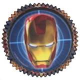 Iron Man '2' Cupcake Cups (50ct)