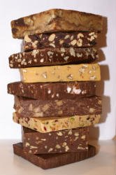 Firestone Fudge Double Chocolate Pecan Fudge - All Natural, Gluten Free
