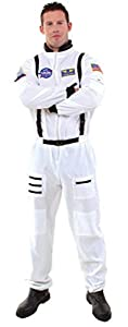 Astronaut White Teen Costume Item - Underwraps