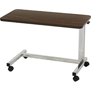 Low Height Overbed Table Style: U-Base
