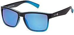 Scavin  Wayfarer Sunglasses (Black) (215S907BLUREVO|55)