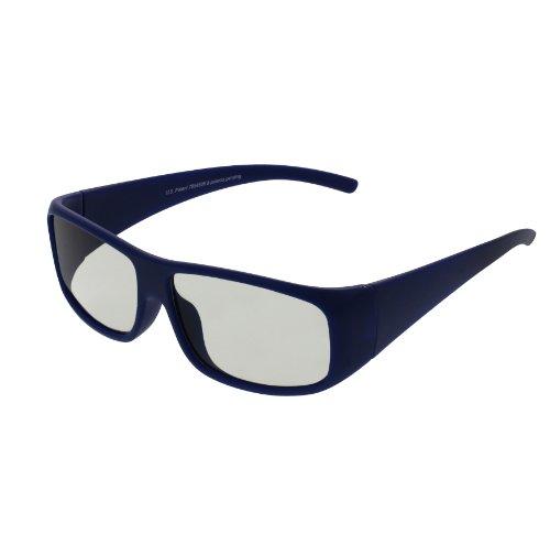 EX3D Eyewear TH0003 passive 3-D Brille blau
