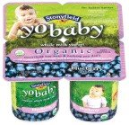 Stonyfield Farm, Yobaby Yogurt,organic, Blueberry, 4/4 Oz (Pack of 6)
