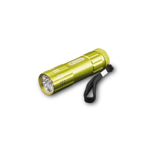 Go Green Power Inc. Gg-113-09Lm 9 Led Flashlight In Lime Green