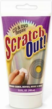 Scratch Out CD/DVD Scratch-Repair Fluid -3.5 fl oz (Discontinued by Manufacturer) (Disk Scratch Remover compare prices)