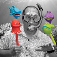 The Sea Squad Puppet-on-a-Stick