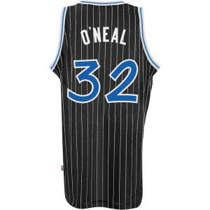 Orlando Magic #32 Shaquille O'Neal NBA Soul Swingman Jersey, Black, Size: Large