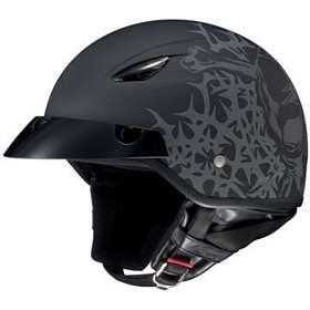 HJC CL-21M CL21 CRUISER SKULL & THORNS M5F MOTORCYCLE Open-Face-Helmet