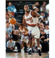 Signed Pippen, Scottie (Portland Trail Blazers) 16x20 Photo autographed by Powers Collectibles