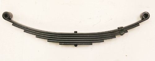New Trailer Leaf Spring-6 Leaf Double Eye 3500lbs Capacity for 7000 Lbs Axle - 20029 (Trailer Leaf Spring Bushings compare prices)