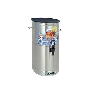 Bunn 34100.000* Iced Tea Dispenser 4 gal Oval Style by Bunn