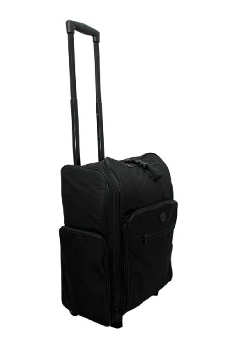 Alberta Black Fabric Trolley