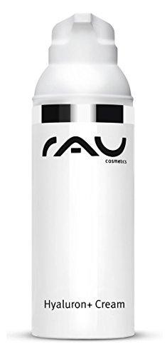 RAU Hyaluron plus Cream - Tagescreme mit UV Schutz, Avocadöl und Hyaluronsäure - 50 ml im Airlessspender - NEU