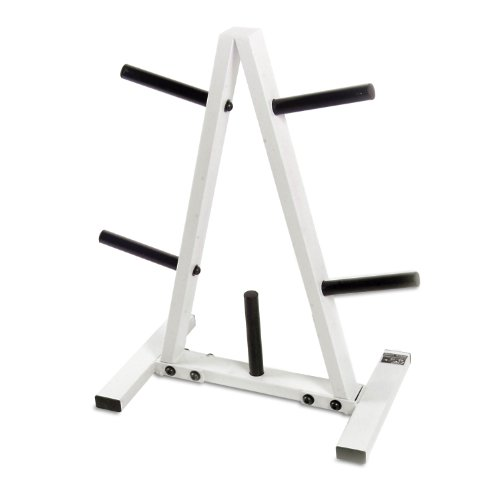 CAP Barbell Black White 1 in Plate RackB0000AS7W2