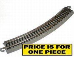 11-1/4 Radius Curved Nickel Silver Track N Bachmann Trains