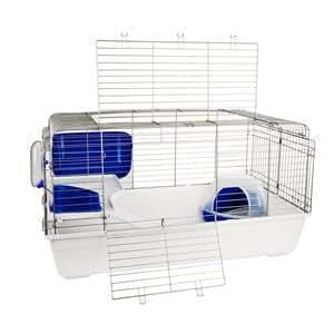 paris cage pour lapin avec accessoires 120 cm avec. Black Bedroom Furniture Sets. Home Design Ideas