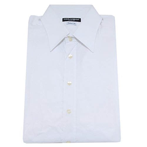 21321 camicia DOLCE&GABBANA D&G TAILORED FIT camicie uomo shirt men [17 (43)]