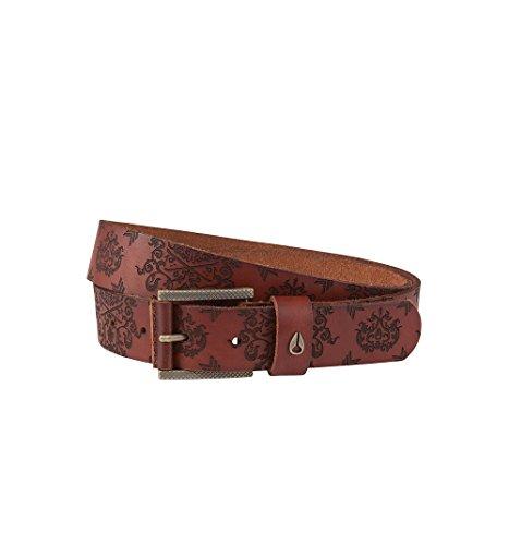 Nixon Americana Belt Honey Brown Ornate (large)