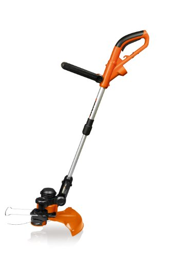 Worx Wg117 14-Inch Electric Grass Trimmer/Edger, 5.0-Amp, Wheeled