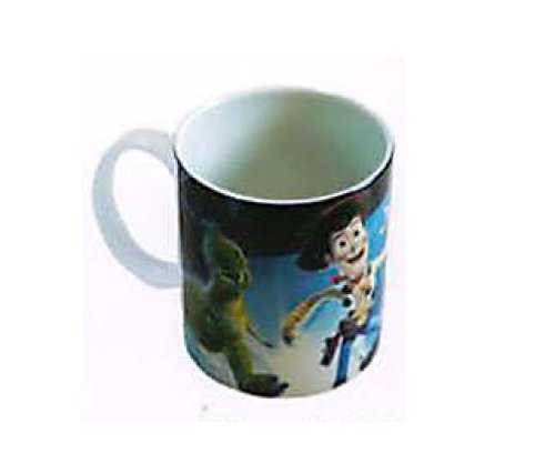 10 oz Porcelain Disney Toy Story Mug - Can Shape Cup with Handle