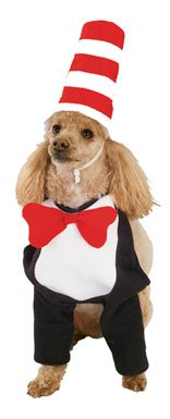Cat in the Hat Dog Pet Halloween Costume