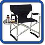 SEASON SPECIAL HEAVY-DUTY OASIS MARINE CHAIR W/ NON-SKID RUBBER FEET -Side Table & Cup Holder-3 Years Warranty-A BONUS PILL BOTTLE MAGNIFIER IS INCLUDED WITH YOUR PURCHASE.. See Price, PageID:560NT