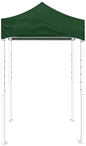 Kd Kanopy Ps25G Party Shade Steel Frame Indoor/Outdoor Portable Canopy, 5 By 5-Feet, Green