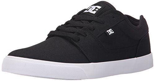 DC Men's Tonik TX Skateboarding Shoe, Black, 8.5 D US