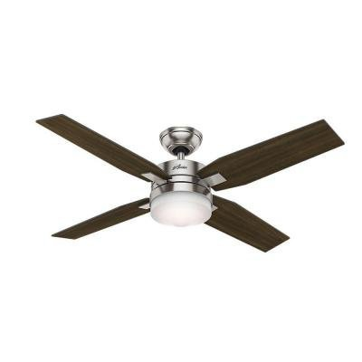 Hunter Mercado 50 in. Indoor Brushed Nickel Ceiling Fan (Hunter 50 Inch Ceiling Fan compare prices)