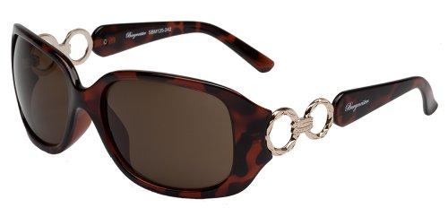 Burgmeister SBM125-242 Groß Sonnenbrille, Brown
