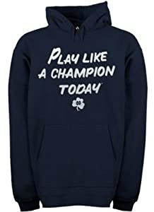Notre Dame Fighting Irish Play Like a Champion Today Navy Sweatshirt size Small -... by adidas