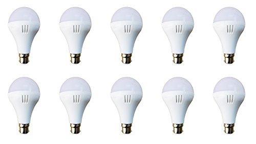 Top-Lite 12 Watt Led Bulb(Pack Of 10),Premium Quality, Ultra Bright, Long Life, Energy Saver