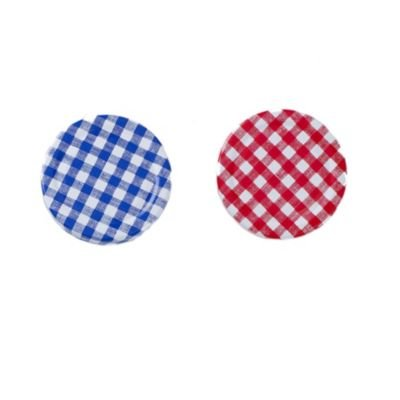 Lakeland Rouge et Bleu couvercles à visser pour pots à confiture avec couvercles x 12-Bocaux à Confiture 450et 225