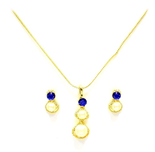 Zaveri Pearls Petal & Pearl Pendant Set-ZPFK3050  available at amazon for Rs.212