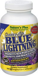 Nature'S Plus - Source Of Life Blue Lightning Vcaps 180