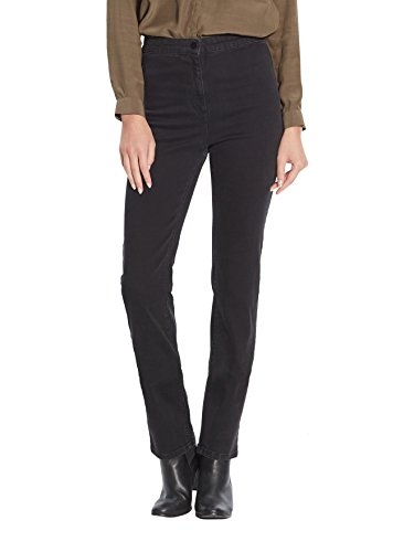 Balsamik - Jeans dritti, speciale pancia - donna - Size : 62 - Colour : Denim nero